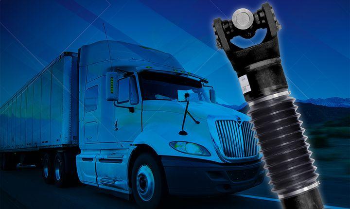 Dana's Spicer ReadyShaft program delivers fully assembled driveshafts in 24 hours. - Photo: Dana