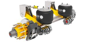 SAF-Holland Introduces Fixed Frame Air Suspension Series