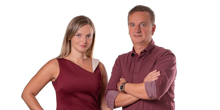 Andreea Crisan (left) has been named president and CEO of Andy Transport Group, a position she assumes from founder Ilie Crisan. - Andy Transport Group/Sonya Messier