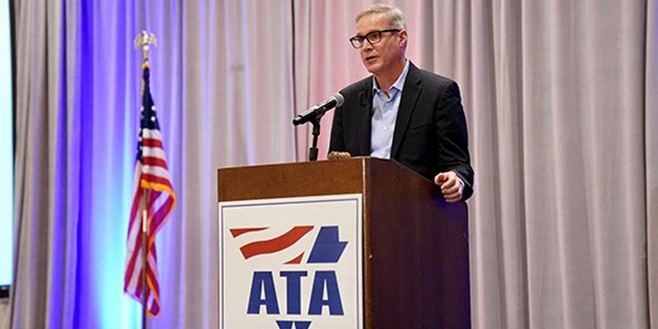 The American Trucking Associations' board has voted to renew the contract for association president and CEO Chris Spear (pictured) for an additional five-year term. - Photo: ATA