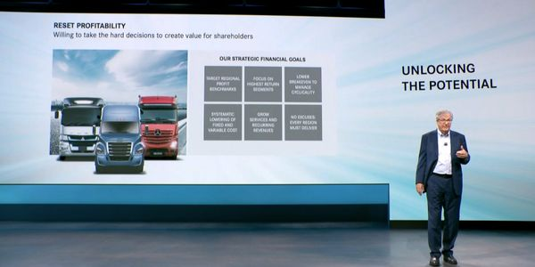 Martin Daum, head of the new Daimler Truck, talks about the company's strategy.
