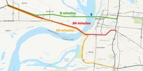 I-40 Bridge Closure Estimated to Cost Trucking $2.4M Per Day