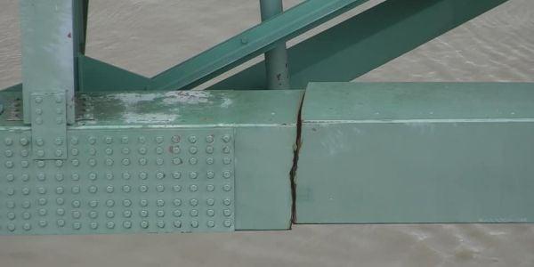 Crews will begin emergency repairs on the six-lane Hernando DeSoto Bridge, but it could be...