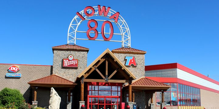 Iowa 80 Truckstop will offer single shot COVID-19 vaccines on-site for truckers starting May 10. - Photo: Iowa 80