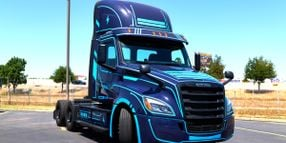 New Legend to Order 50 Freightliner eCascadias