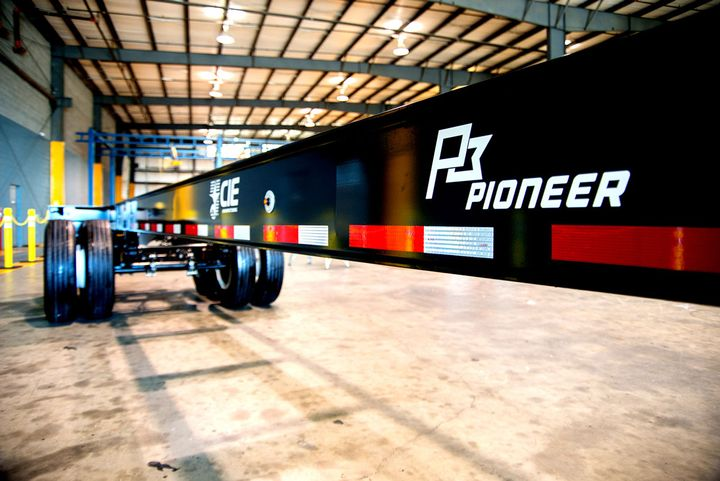 CIE Manufacturing last November said it had produced its first American-made chassis. - Photo: CIE