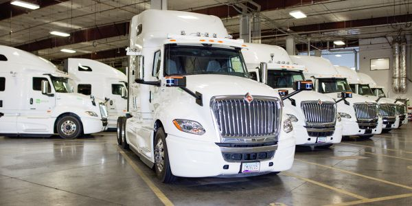 Penske, Schneider and U.S. Xpress are among the first wave of customers to reserve the...