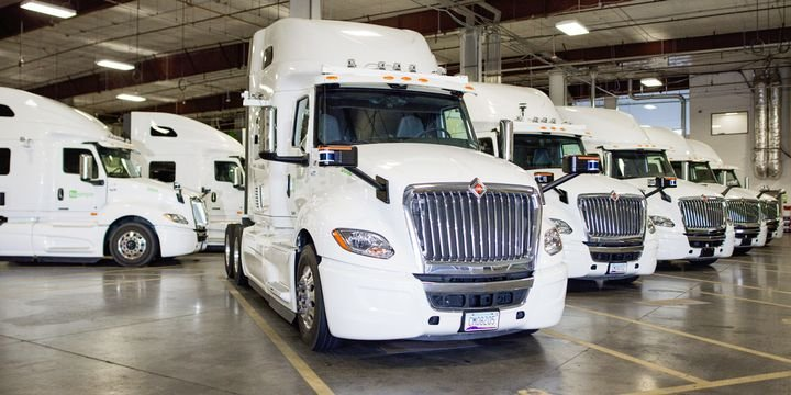 Penske, Schneider and U.S. Xpress are among the first wave of customers to reserve the autonomous International LT Series. - Photo: TuSimple
