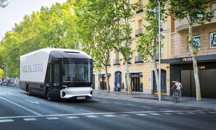 The Volta Zero is designed for last-mile delivery. - Photo: Volta Trucks