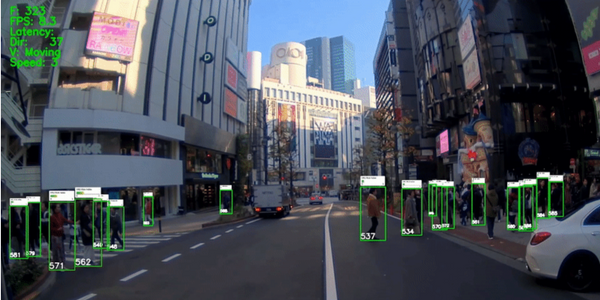 A new pilot project will use artificial intelligence to help identify pedestrians and other...