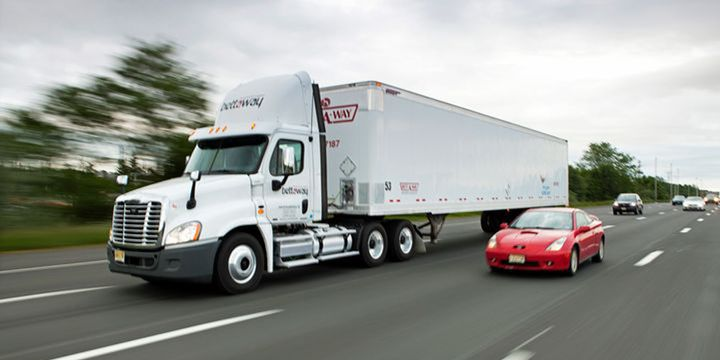 According to the American Transportation Research Institute, there have been nearly 300 nuclear verdicts against trucking fleet in the last five years. - File photo: Bettaway