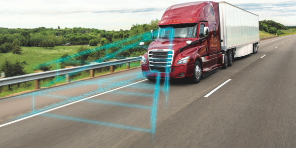 Detroit has added active speed intervention, lane assist with automatic braking, and brake hold...