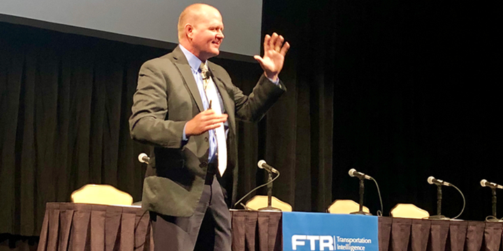 FTR's 17th Annual Transportation Conference will be held Sept 13-17 in Indianapolis. The first two days will focus on content related to the trucking industry. - HDT 2018 File Photo: David Cullen