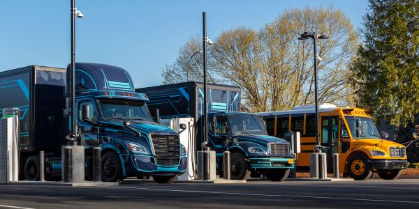 Class 8 day cabs, medium-duty delivery trucks, and school buses are among the applications ACT...