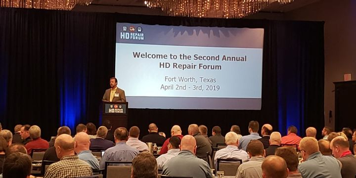 This is the first time the HD Repair Forum, the largest conference solely dedicated to the heavy-duty collision repair industry, has co-located with another industry event. - Photo: HDRF