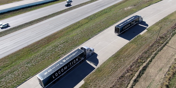 PGT Trucking will deploy 1,000 autonomous relay convoy systems to enable one driver to pilot a...