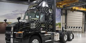 Mack Day Cab Roof Fairing to Improve Anthem Fuel Efficiency
