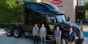 First Peterbilt New Model 579 Goes to Smith Transport