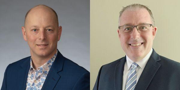 Sean Garney (shown left) and Steve Keppler will lead Scopelitis Transportation Consulting as...