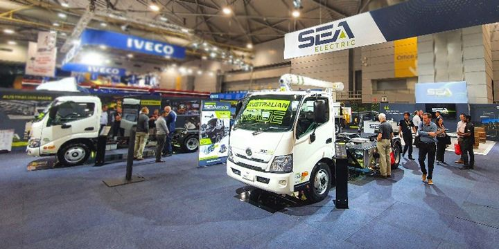 By adding further assembly capability in the U.S., SEA Electric has created the potential to assemble approximately 60,000 electric trucks per year. - Photo: SEA Electric