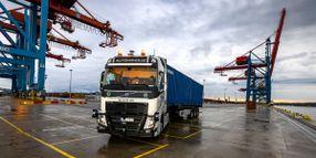Volvo Begins Autonomous Pilot in Sweden Port