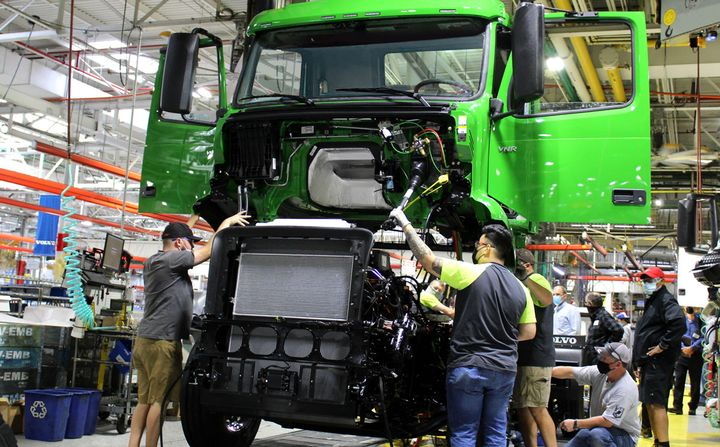 The second strike in two months comes as Volvo is starting production of its VNR Electric. - Photo: Volvo Trucks North America