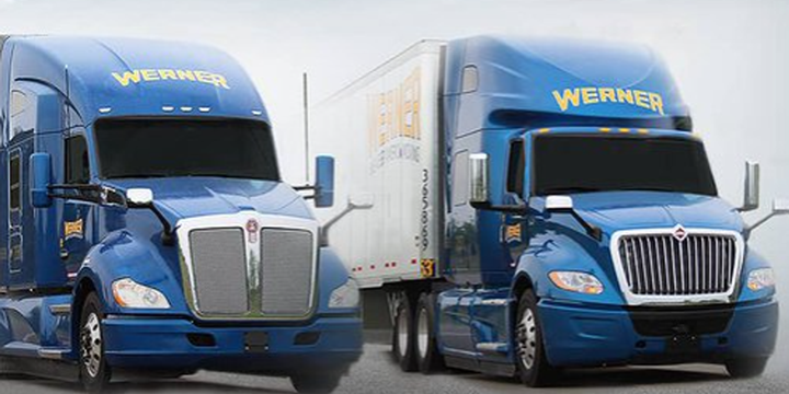By utilizing theintegration with Navistar, Werner is able to send trucks to certified OEMs with the parts inventory to quickly get vehicles back on the road. - Photo: Werner