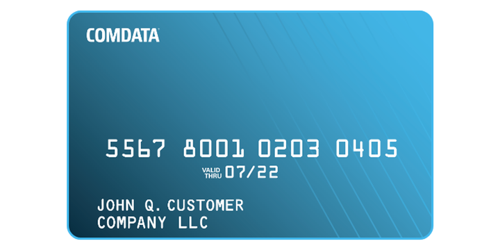The DAT Fuel Card is accepted at more than 8,000 fuel and maintenance locations through the Comdatanetwork. - Graphic: Comdata