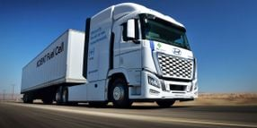 Hyundai to Deploy Hydrogen-Fuel-Cell Trucks in California