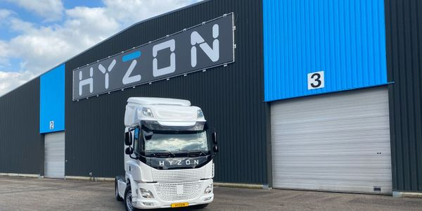 Hyzon recently announced it will work with Chart Industries to produce a liquid hydrogen-powered...
