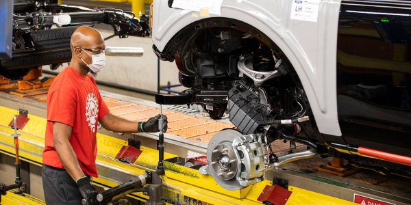 Ford this summer had to temporarily stop production of its new Bronco SUV due to the global...