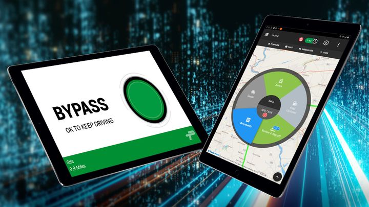 Omnitracs One users will now be able to access the PrePass app in one platform. - Photo: PrePass