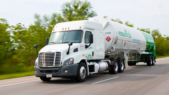 Air Products plans to convert its global fleet to hydrogen fuel cell trucks. - Photo: Air Products