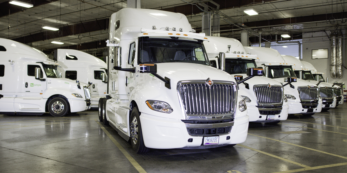 TuSimple to Use Ryder Facilities to Expand Autonomous Trucking Network