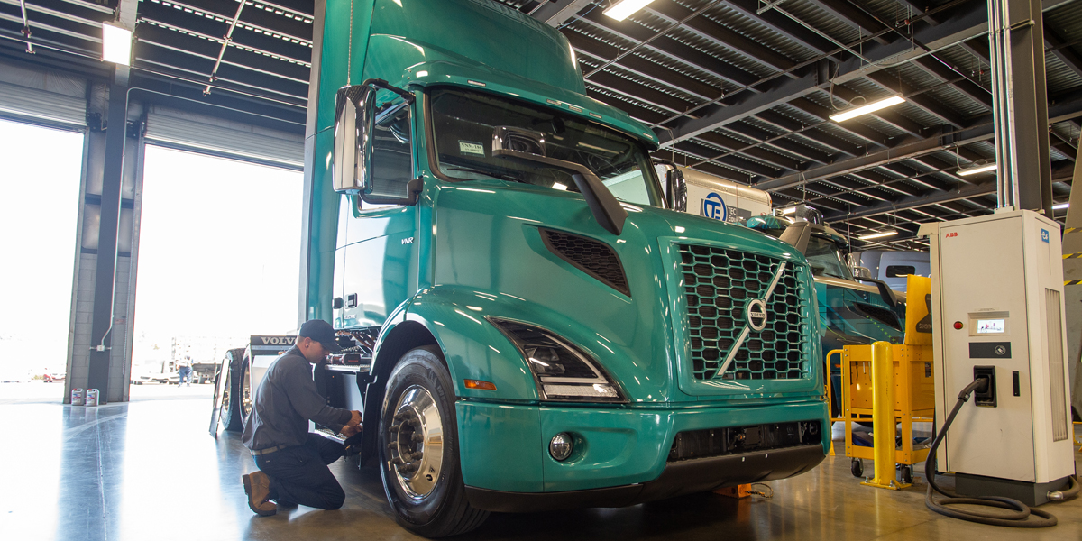 Volvo Trucks Names First Certified Electric Vehicle Dealer