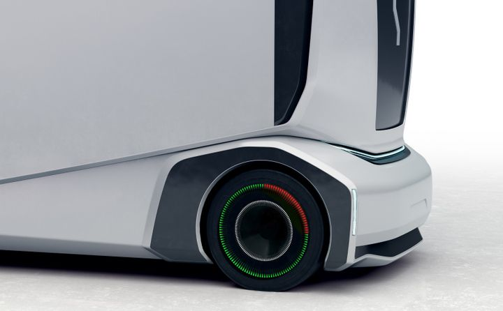Bridgestone smart tires will provide safety and efficiency-related data. - Photo: Einride