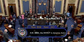 Senate-Passed Infrastructure Legislation Includes Trucking Provisions