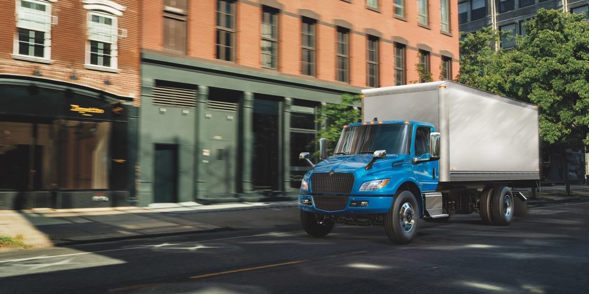 Navistar Launches Electric International eMV Medium-Duty Truck