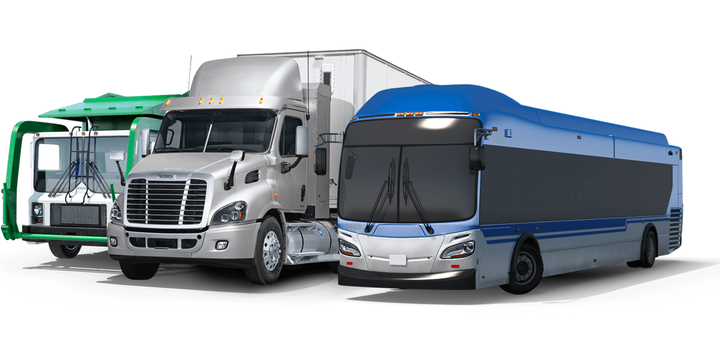 NGVAmerica has pledged that by 2030, 80% of natural gas vehicle on-road motor fuel in the United States will be derived from renewable sources. - Illustration: NGVAmerica.