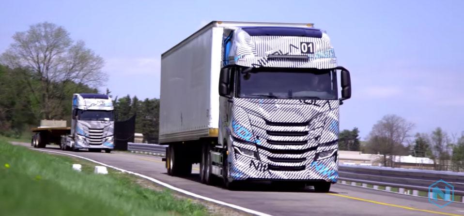 Nikola Puts Tre Battery-Electric Truck Through its Paces
