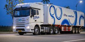 Goodyear, Plus Collaborate on Autonomous Truck Tech
