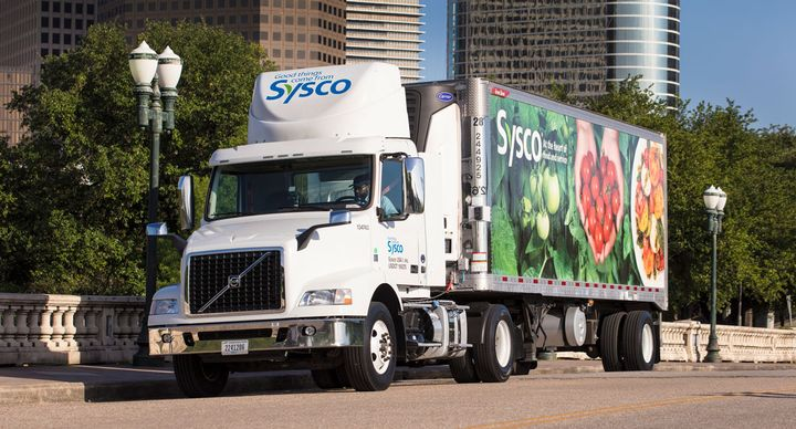 Foodservice giant Sysco is starting a truck driver training school. - Photo: Sysco