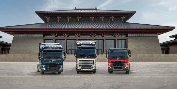 Volvo Trucks officials say they want to start production of new heavy-duty Volvo FH, Volvo FM and Volvo FMX trucks in Taiyuan for customers in China. - Photo: Volvo