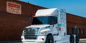 Hino Hydrogen-Fuel-Cell Heavy-Duty Truck Debuts at ACT Expo