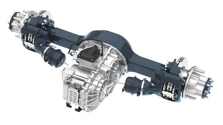 Allison introduced the single-motor eGen Power 100s electric axles. - Photo: Allison