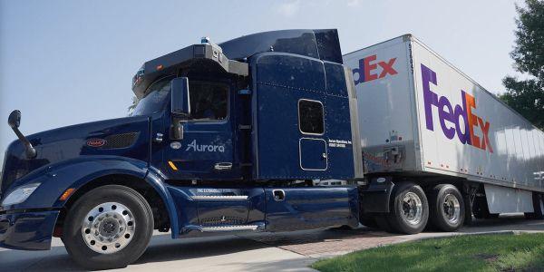 Paccar's autonomously-enabled trucks configured with the Aurora autonomous Driver platform will...