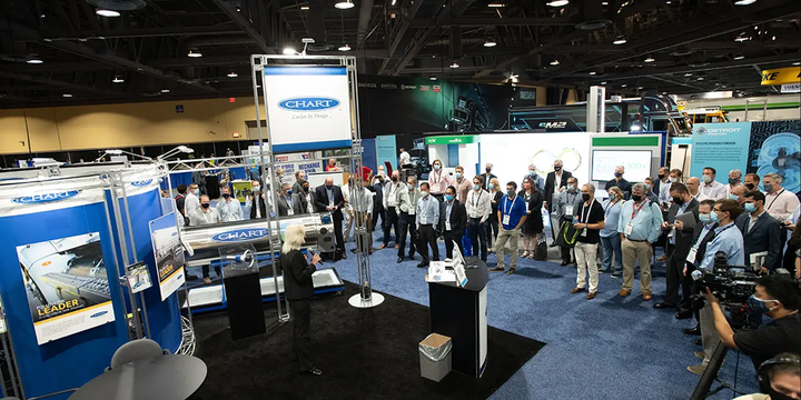 HLH2 was developed to meet growing market demand for a variety of fuel cell and internal combustion engine applications, Chart officials said. - Photo: ACT Expo