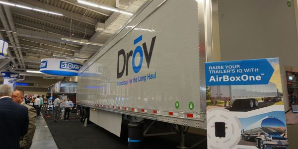 Drov's AirBoxOne can read any sensor on the trailer, change and control tire pressure, enable...