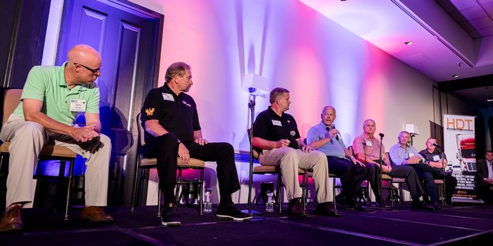 The awards ceremony and panel discussion for the HDT Truck Fleet Innovators is a highlight of HDTX. - Photo: Tavits Photography for HDTX