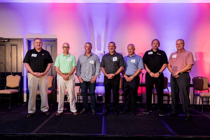 Left to right: Jonathan Koralewski, Chris Woody,Marc Kramer, Shaun Sadler,Ken Johnson,Dan Brewer,Todd Gooch - Photo: Tavits Photography for HDTX